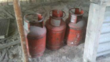 Газовые баллоны 3 шт по 1000 сом за штуку(один с газом) в Бишкек
