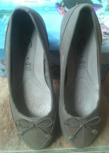 in Kikinda: Safran cipele nove 37 velicina . Ima fleku u unutrasnjosti cipela od