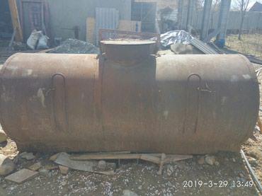 Продаю железную бочку примерно на 2000 литров из толстого метала в Сокулук
