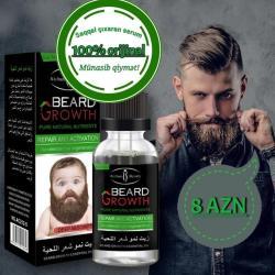 Bakı şəhərində Beard growth ssaqqal serumu saqqal və bığlarınızı qidalandırmaq