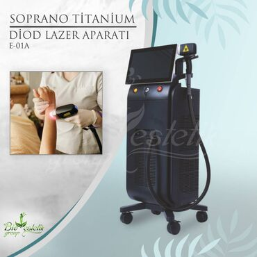 Diod Lazer Epilyasiya aparati,  Soprano Titanium cihazı (BES-E-01)  •
