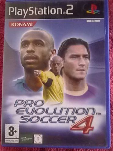 PlayStation 2  pro evolution soccer 4 - Kucevo