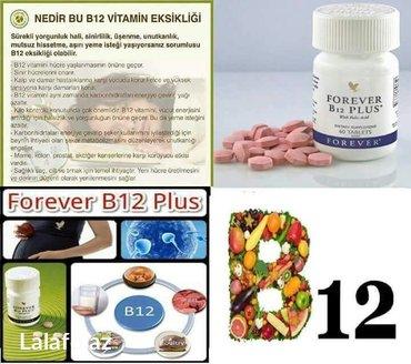Bakı şəhərində ALOE VERA bitkisinden alinan B12 Vitamin kompleksi (bitki terkibli ye