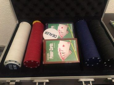 Sport i hobi - Smederevo: Poker turnirski set br.5, uvoz Svajcarska
