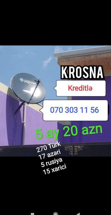 Krosna krosnu kros peyk antenaların kreditlə və nəğd quraşdırılması