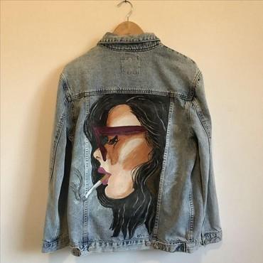 Роспись на джинсовках и рубашках. Профессионально и качественно. в Бишкек