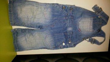 100с!! джинсы с лямками для девочки, фирма next , с заклепками между ш в Бишкек