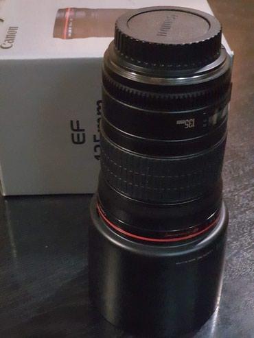 Новый объектив Canon ef 135mm f/2L usm - Король в Бишкек