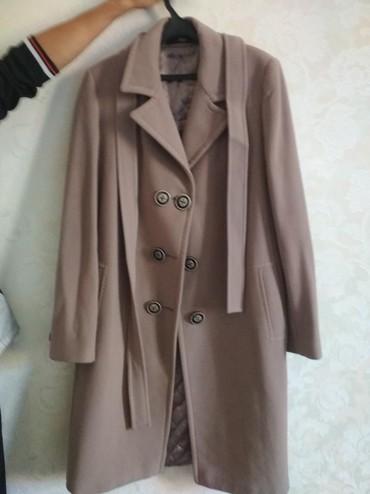 Женская одежда - Беш-Кюнгей: Продаю пальто Ларетто: размер 46, состояние отличное, 1500с
