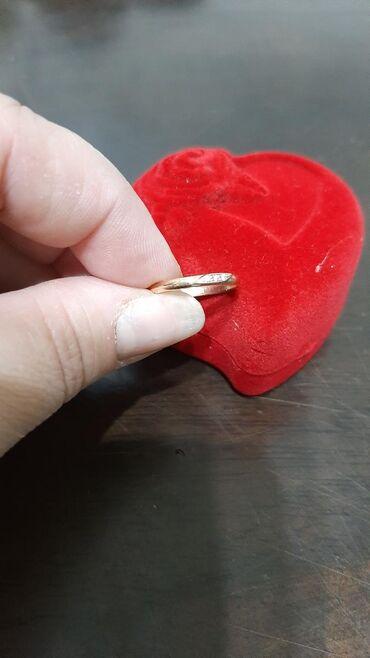 скупка золота 585 пробы в Кыргызстан: Кольцо золотое с бриллиантом,585 проба,вес 1,8грамм,размер 16