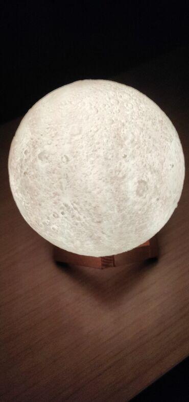 Ночник-светильник Луна. Самый романтичный атмосферный подарок. Шар вып