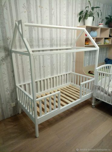 """Кровать """" Африка"""" размер 160/70см +артапед матрас"""