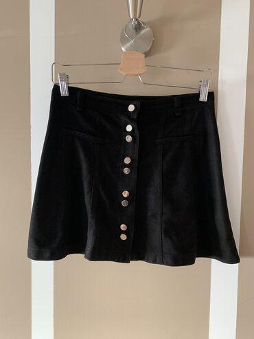 Zara suknja od velura