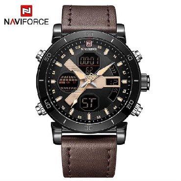 Черные Мужские Наручные часы NaviForce в Nardaran