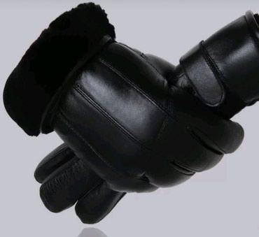 черная длинная футболка мужская в Кыргызстан: Мужские кожанные перчатки.Черные, натуральный мех (овчина) и