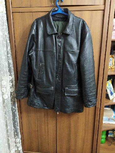 Куртки - Сокулук: Мужская куртка из натуральной кожи