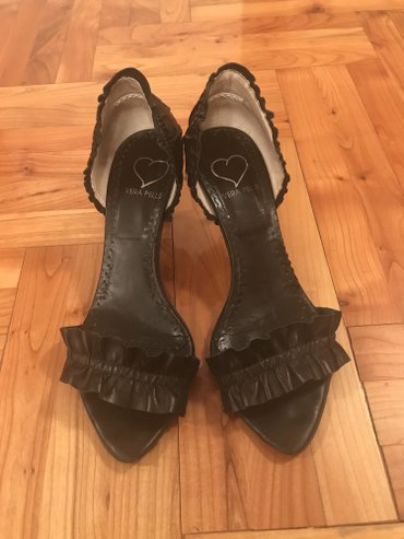 Crne sandale broj 38 - Beograd