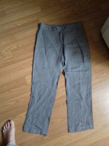 Pantalone sive lanene vel 36 7/8 - Prokuplje