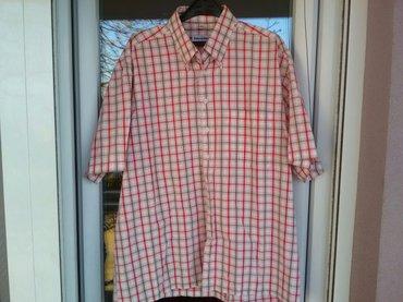 Odlična košulja za krupnije muškarce Enriko Gorlani, prijatan materija - Pozarevac