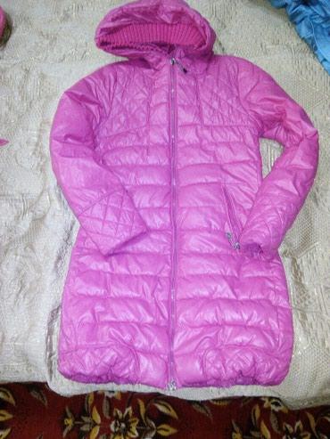 Куртка- пальто малинового цвета для в Бишкек