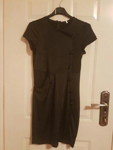 Nova!!! Crna haljina prelepog kroja od mokre likre - Belgrade