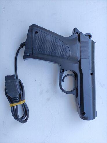 Продаю световой пистолет для денди, курок щелкает отлично