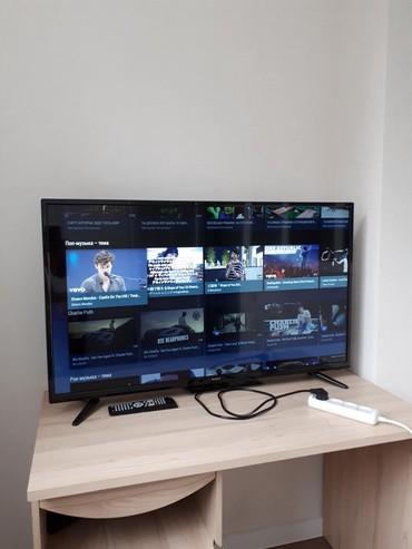 Телевизор Sony Смарт диаметр 110см не использованный,новый в Бишкек
