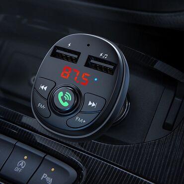fm модулятор бишкек in Кыргызстан   БАШКА УНАА ЭЛЕКТРОНИКАЛАРЫ: Автомобильный FM-модулятор Borofone BC26 Music Joy Wireless FM