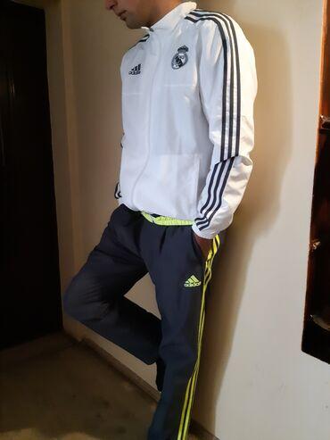 Adidas original trenerke,komplet, velicina L-M, izvandredna