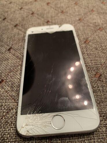 айфон 6 16 гб цена бу in Кыргызстан | APPLE IPHONE: IPhone 6 | 16 ГБ | Серый (Space Gray) Б/У | Трещины, царапины, Отпечаток пальца