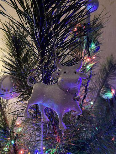 New year tree decor