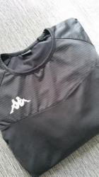 Majica dug - Srbija: Kappa DRI FIT majica, L, NOVOPotpuno nova ženska crna Kappa majica za