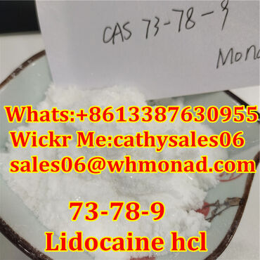 99% Lidocaine Local Anesthetic Powder Lidocaine Base Pain Killer CAS