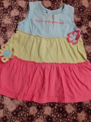 Платье на 1- 2 года х/б