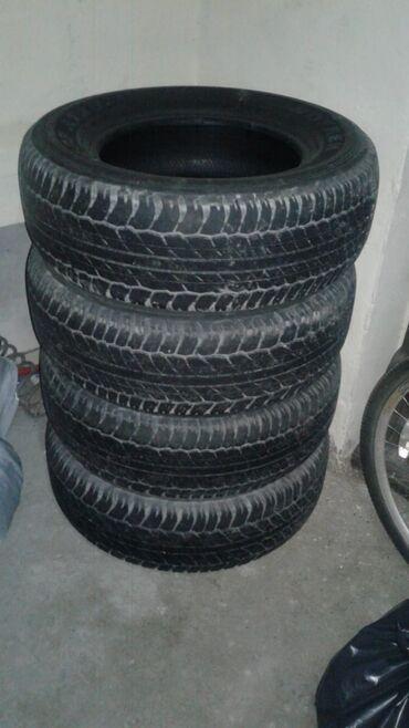 Bridgestone tekerleri - Azərbaycan: Pradonun zavadskoy tekerleri yaxwı vezyetde 150azn