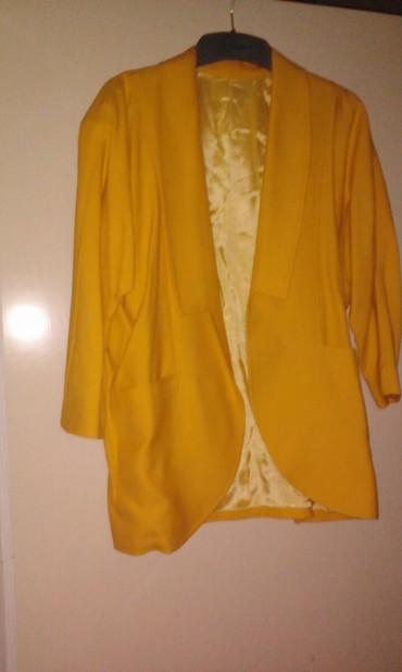 Σακάκι λινό L ελάχιστα φορεμένο σε Kallithea