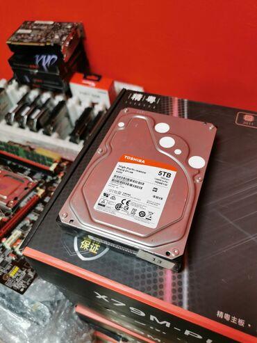 HDD 5TB TOSHIBA 7200RPM 128MB BUFFER Жёсткий диск состояние 100/100%