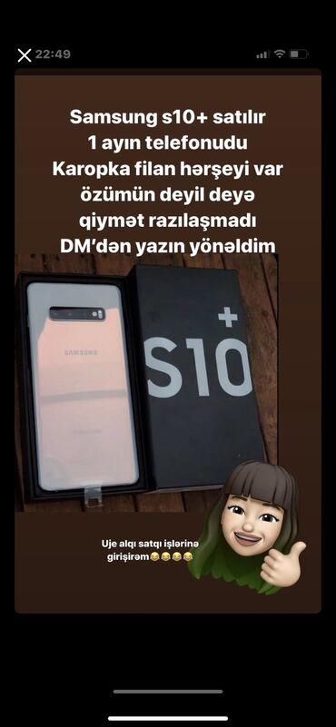 Samsung-6 - Азербайджан: Новый Samsung Galaxy S10 Plus 128 ГБ Белый