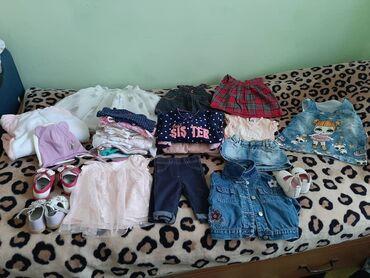 детские вещи б у в Кыргызстан: Продаю детские вещи, вещи новые, но б/у без пятен, носилось очень