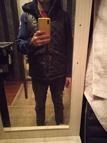 жилет мужской в Кыргызстан: Мужской жилет,46 размер,черный,новый