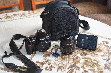 фотоаппарат nikon d3100 в Кыргызстан: Срочно продаю фотоаппарат D3100 (Б/у в отличном состоянии) за 5200с.В