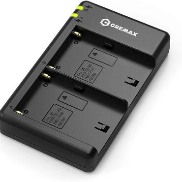 NP-F üçün ikili adapter - CremaxCREMAX markasından Sony NP-F tipli