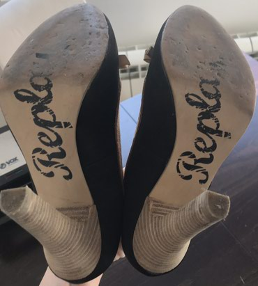 Replay cipele, broj 37. Visina stikle 11 cm.Malo nosene. - Crvenka - slika 4