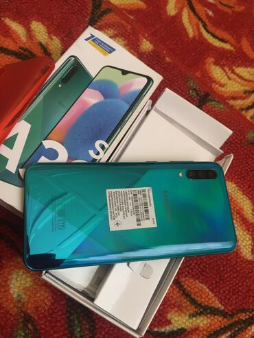 topchany s kryshej в Кыргызстан: Б/у Samsung A30s 32 ГБ Зеленый