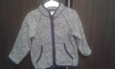 H&M džemper na rajsferšlus za dečake uzrasta od 12 - 18 meseci - Ruma
