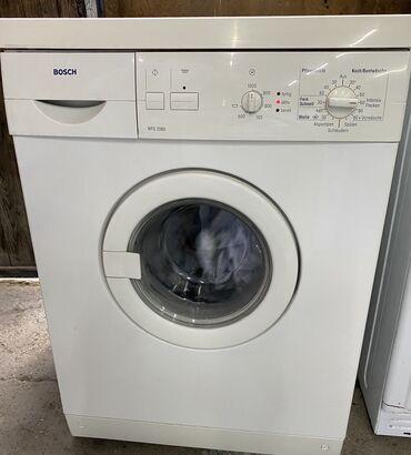 """Продаю стиральную машину на 5кг """"BOSCH"""" ( оригинал) Европеец!"""