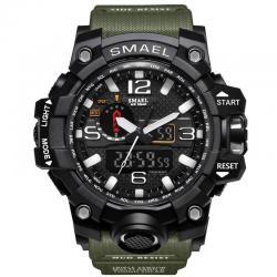 Наручные часы - Кок-Ой: Отличные мужские часы, Мужские часы Smael 1545 +бесплатная доставка по