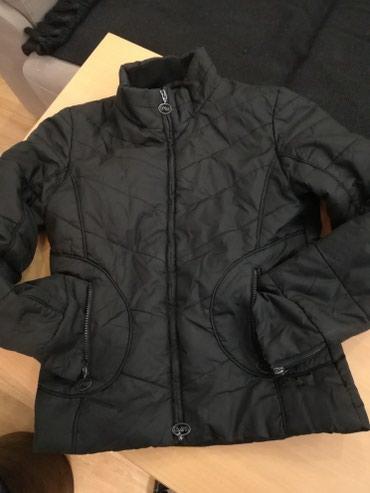 Tanja crna jakna, zenska, strukirana, za prelazni period, 36 vel(s) - Pozega