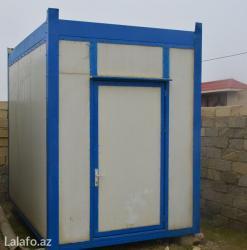 40 futluq dniz konteyneri - Azərbaycan: Konteyner satilir və icarəyə verilir. Uzunu 3m 50sm eni 2m 50sm1)