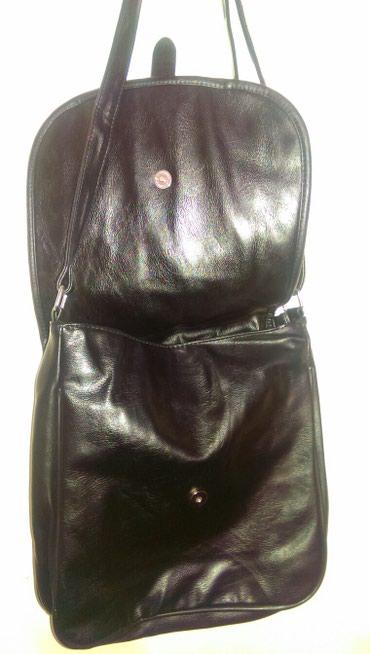 жен-сумка в Кыргызстан: Жен, сумка, кожа натур., новая, чёрная, на подкладе